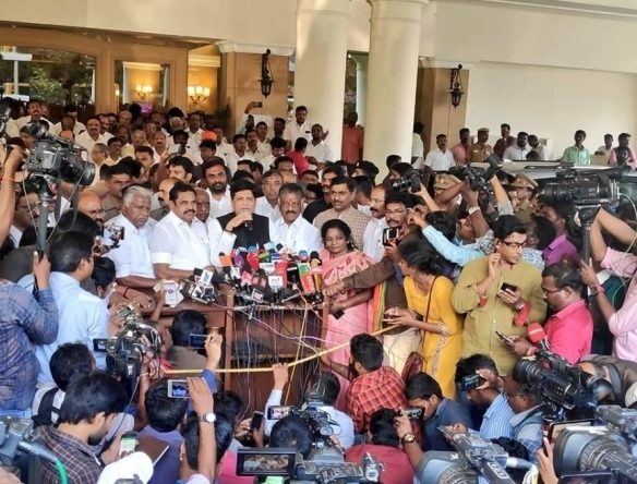 2019 general elections: AIADMK gives BJP five seats to contest from