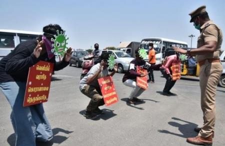 1,13,117 arrested in Tamilnadu - State police- Tamilnadu- lockdown ...