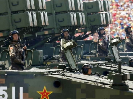 China rapidly building robust lethal force: US