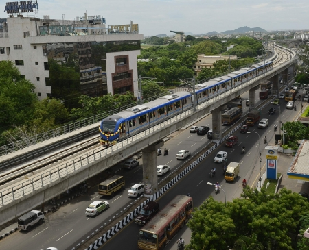 CM seeks Centre's support for second phase of Chennai Metro Rail