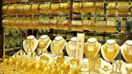 Gold price touches new peak