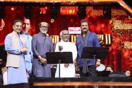 Ilayaraja gave good songs for Kamal than him, says Rajini
