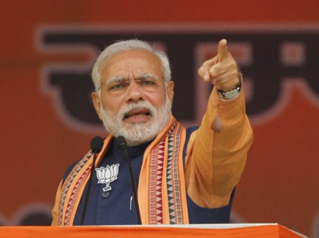 Modi slams Congress, says social justice is not maths equation
