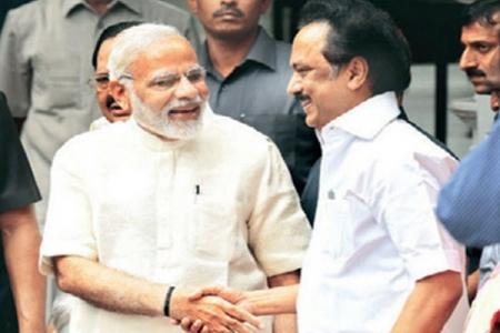 Stalin hails Modi, PM reacts - Stalin- Modi- BJP- DMK- Lok Sabha- M K  Stalin- Lok Sabha elections- Prime Minister   Thandoratimes.com  