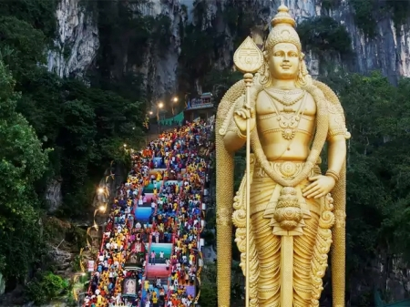 Thai Poosam celebrated in Malaysia with spiritual fervour
