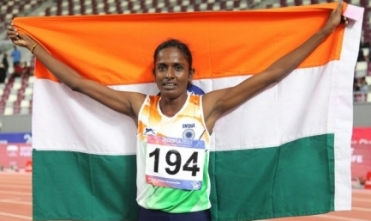 Governor, CM, Stalin congratulate Gomathi for bagging gold at Doha