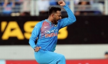 India levels T20 series: Krunal, Rohit excel
