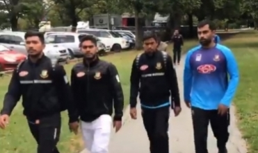 New Zealand shooting: Narrow  escape for Bangaldesh cricket team