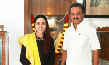 POLITICS WAS NOT DISCUSSED IN THIS MEETING WITH STALIN - DIVYA SATHYARAJ