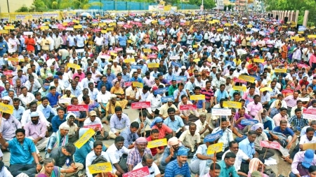 TN teachers-govt staff strike intensifies, many arrested, new staff from today