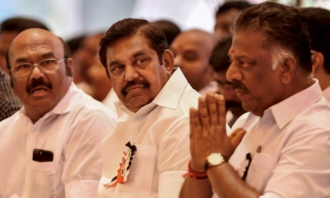 ADMK OPS EPS Public Meeting Chennai