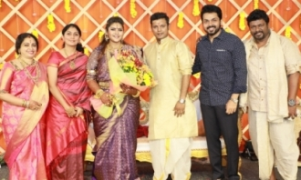 Actor Parthiban Elder Daughter's Wedding images