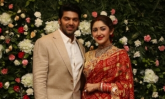 Arya - Sayyesha Wedding reception Photos