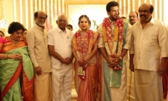 Soundarya Vishagan Wedding Reception Photos