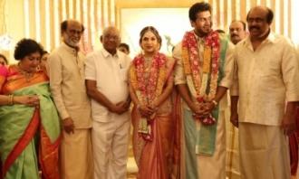 Soundarya Vishagan Wedding Reception Photos